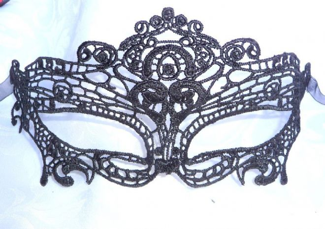 Black Lace  Eye Mask b